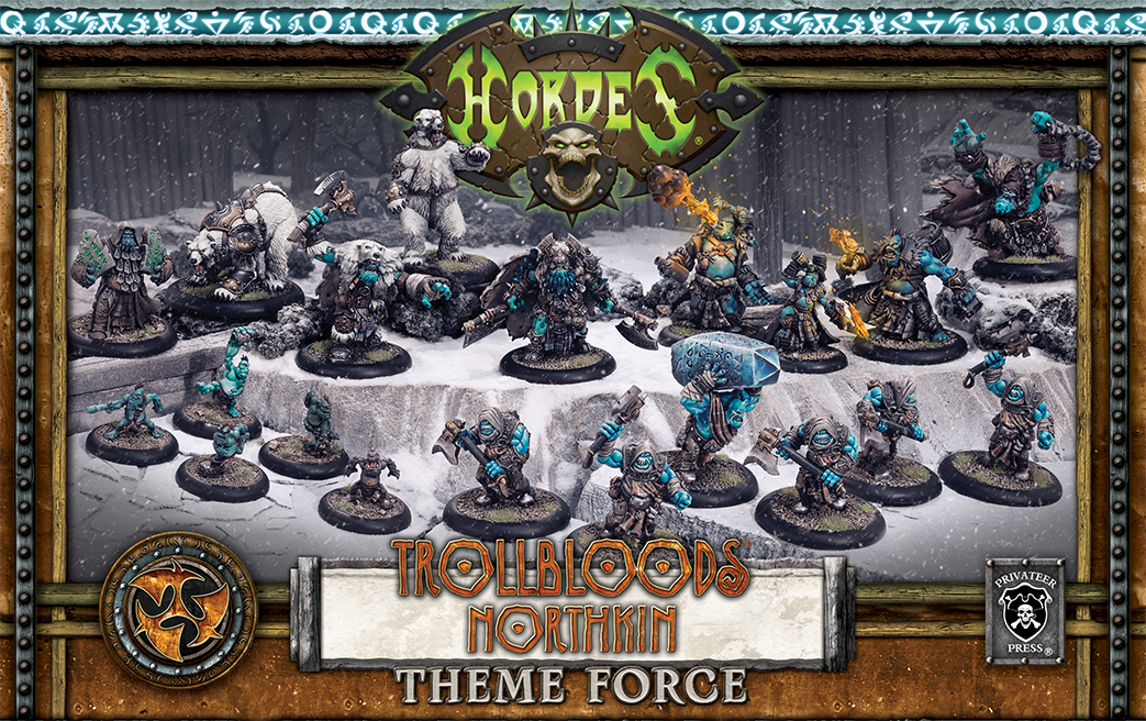 Hordes: (Trollbloods) Northkin Theme Box