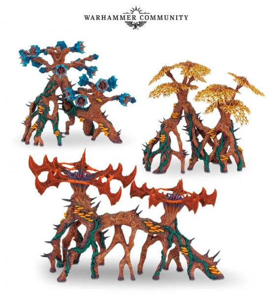 WH40K: DEATHWORLD BARBED VENOMGORSE