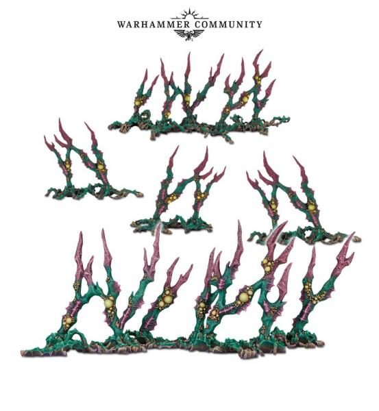 WH40K: DEATHWORLD SHARDWRACK SPINES