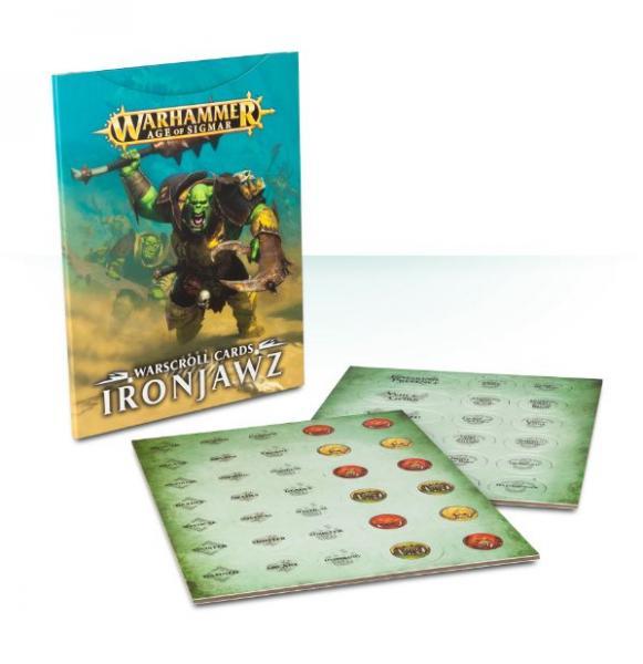 Age of Sigmar: Warscroll Cards: Ironjawz