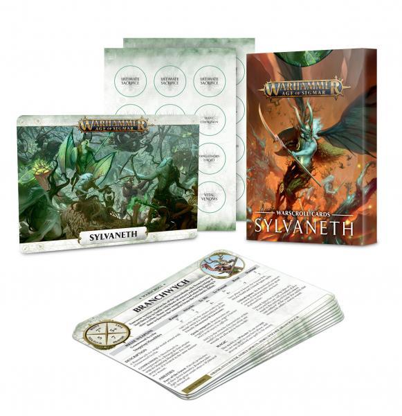 Age of Sigmar: Warscroll Cards - Sylvaneth (2019)