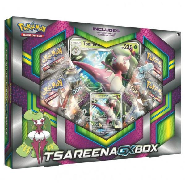 Pokemon CCG: Tsareena-GX Box