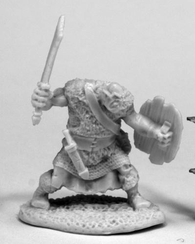 Dark Heaven Bones: Orc Grunt
