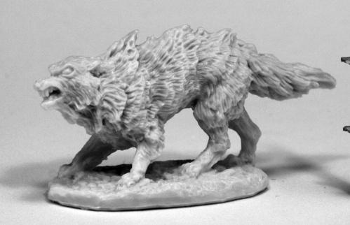 Dark Heaven Bones: Winter Wolf