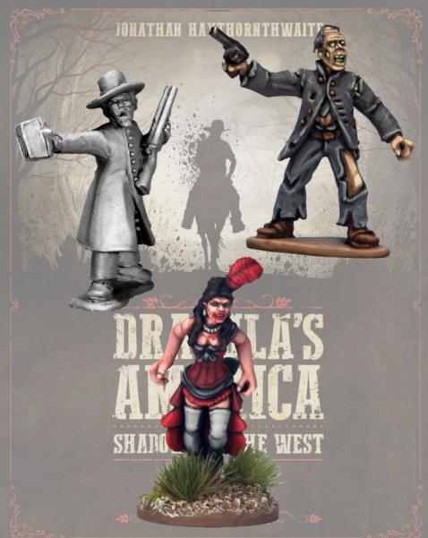 Dracula's America: Characters Pack (3)