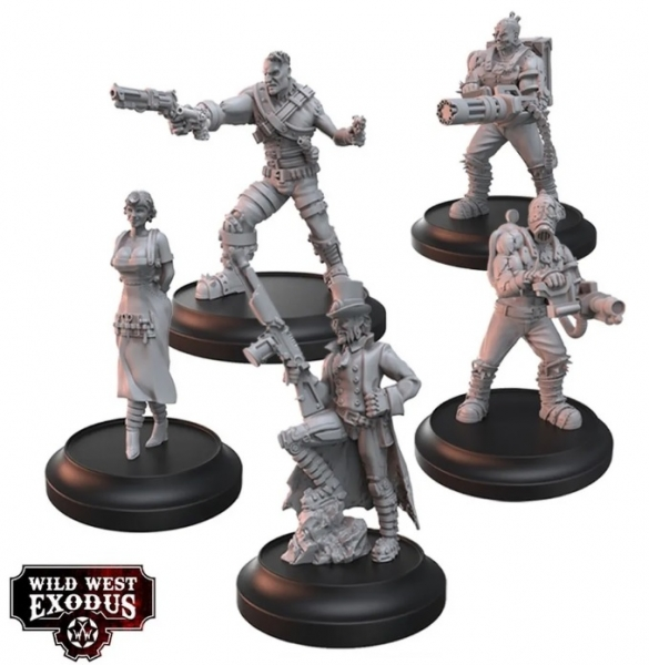 Wild West Exodus: Father of the Enlightened Posse Box Set
