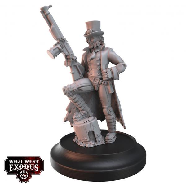 Wild West Exodus: Father of the Enlightened Posse Box Set