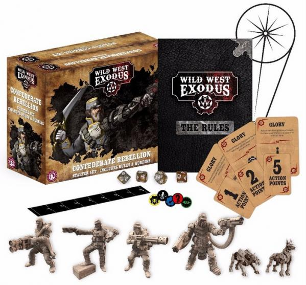 Wild West Exodus: Confederate Rebellion Starter Set