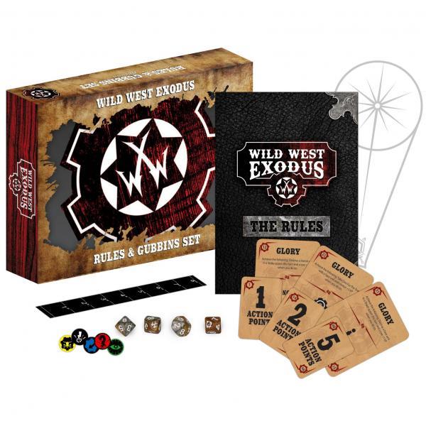 Wild West Exodus: Rules & Gubbins Set