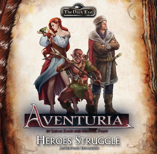 Aventuria Adventure Card Game: Heroes' Struggle Expansion