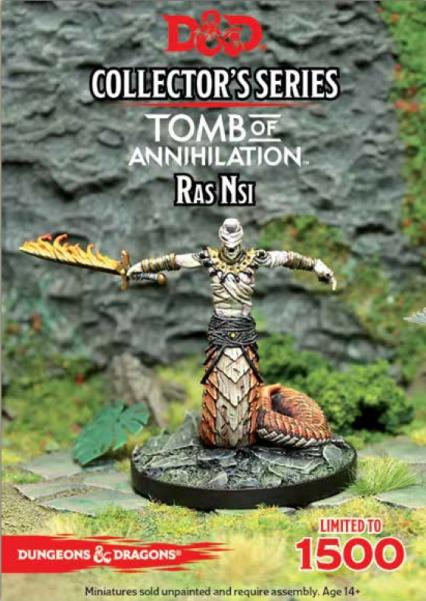 D&D Collector's Series: (Tomb of Annihilation) Ras Nsi [Limited]