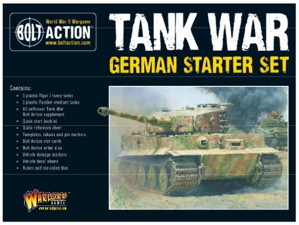 Bolt Action, 2nd Edition: Tank War German Starter Set