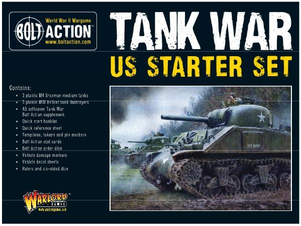 Bolt Action, 2nd Edition: Tank War US Starter Set