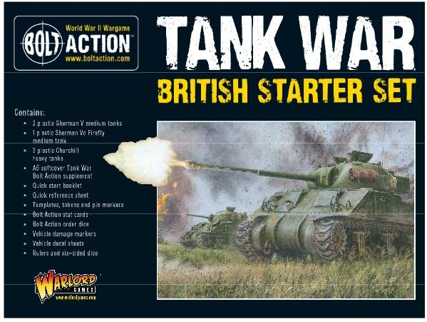 Bolt Action, 2nd Edition: Tank War British Starter Set