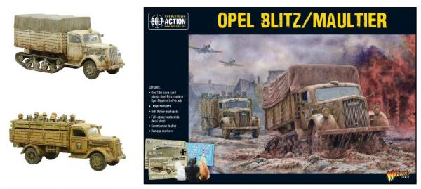 Bolt Action, 2nd Edition: Opel Blitz/Maultier