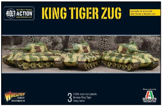 Bolt Action, 2nd Edition: King Tiger Zug