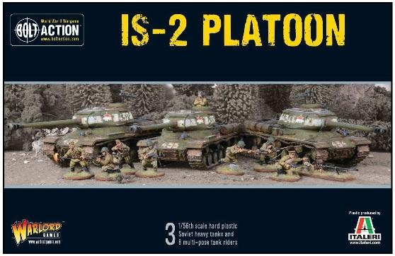 Bolt Action, 2nd Edition: IS2 Platoon