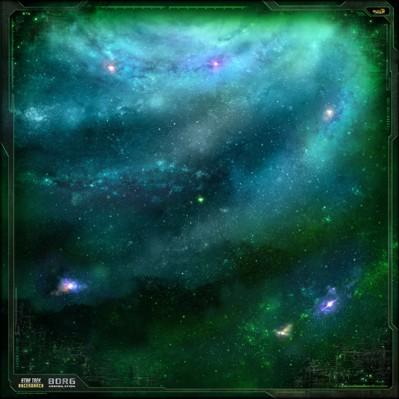 Star Trek Ascendancy: Borg Play Mat