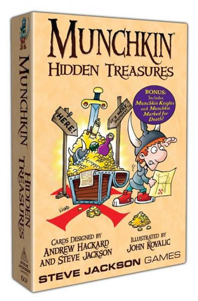 Munchkin: Hidden Treasures (Upgraded)