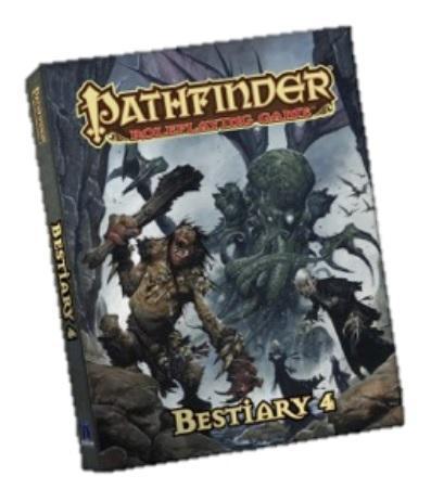 Pathfinder RPG: Bestiary 4 (Pocket Edition)