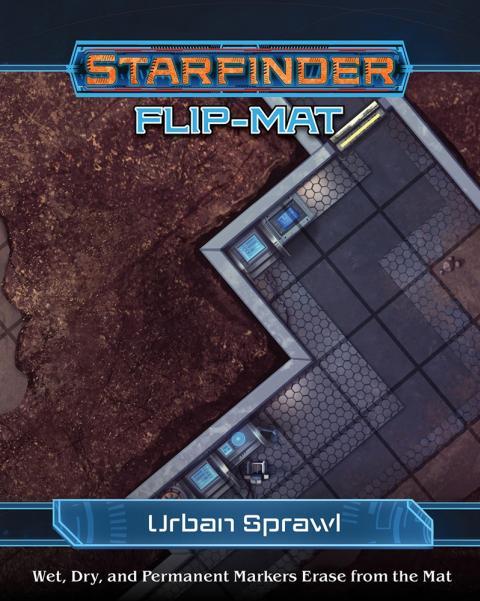 Starfinder RPG: Starfinder Flip-Mat - Urban Sprawl