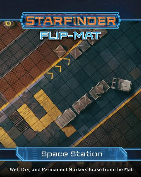 Starfinder RPG: Starfinder Flip-Mat - Space Station