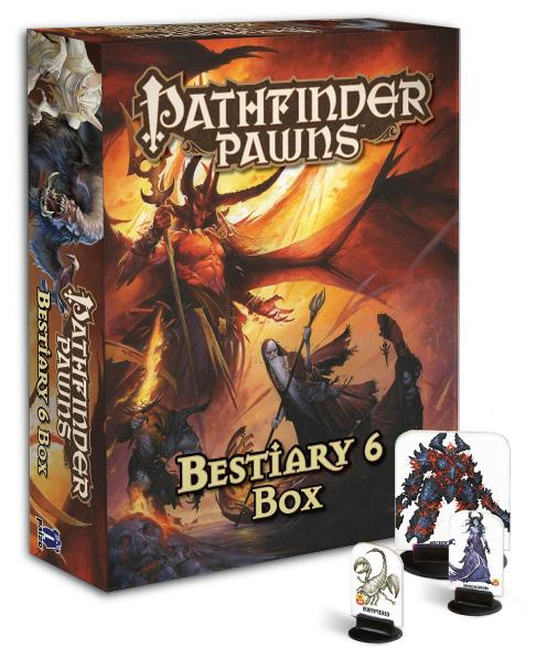 Pathfinder RPG: (Pawns) Bestiary 6 Box