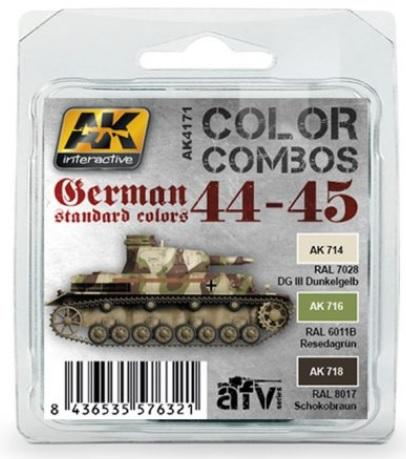 AK-Interactive: GERMAN STANDARD 44-45 COLOR COMBO SET