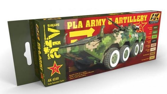 AK-Interactive: PLA ARMY & ARTILLERY SET