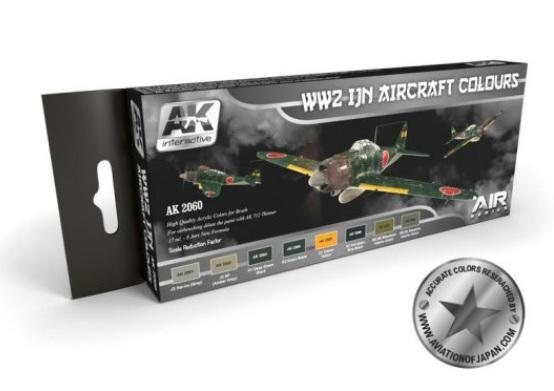AK-Interactive: WW2 IJN AIRCRAFT COLOURS SET