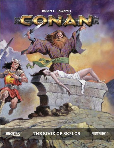 Conan RPG: Book of Skelos (Supplement) (HC)
