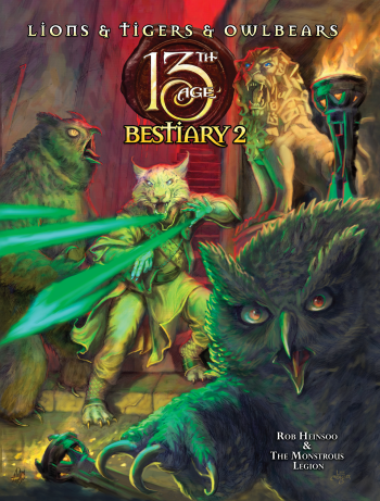 13th Age: Bestiary 2 (HC)