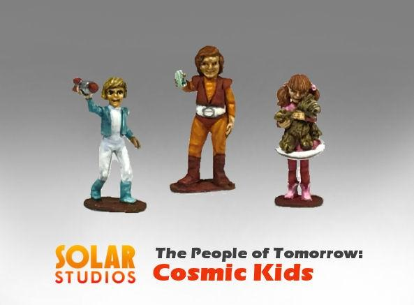 28mm Sci Fi: Cosmic Kids (3)