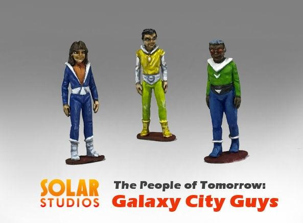 28mm Sci Fi: Galaxy City Guys (3)