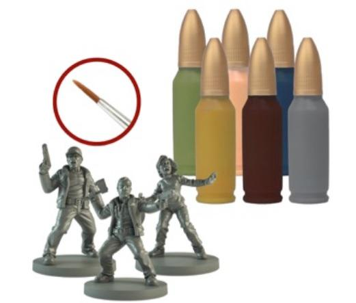 The Walking Dead: (Accessory) Survivor Paint Set