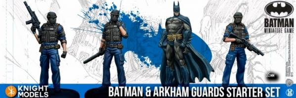 Batman Miniature Game: Batman and Arkham Guards Starter Set (2nd Edition) (Resin)