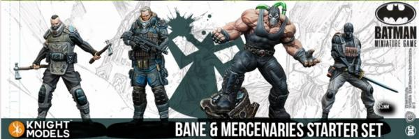 Batman Miniature Game: Bane and Mercenaries Starter Set (2nd Edition) (Resin)