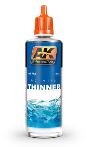 AK-Interactive: ACRYLIC THINNER (60 ml)