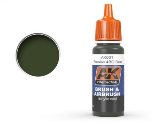 AK-Interactive: RUSSIAN 4B0 BASE Acrylic Paint