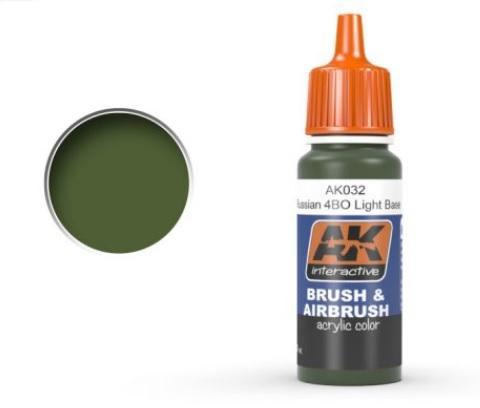 AK-Interactive: RUSSIAN 4B0 LIGHT BASE Acrylic Paint
