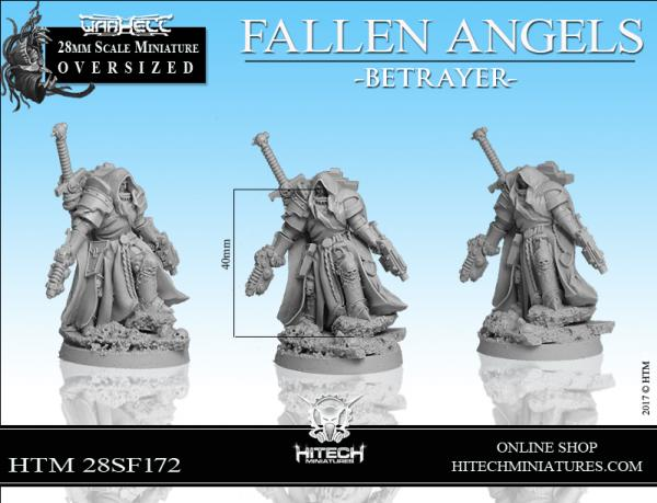 WarHell: Fallen Angels - Betrayer (Oversized)