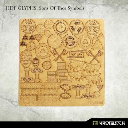 Accessories: HDF Glyphs - Sons of Thor Symbols