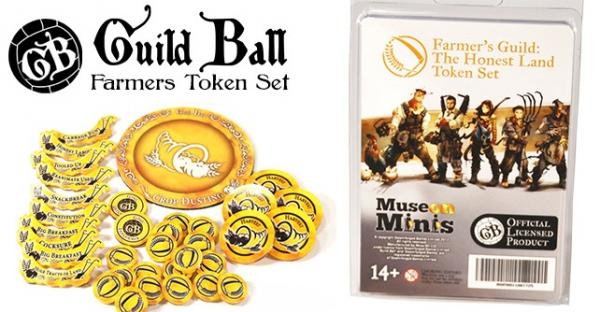 GuildBall: (Accessories) Farmers - Honest Land Tokens