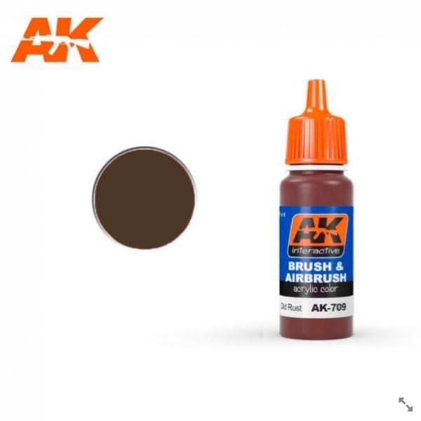 AK-Interactive: OLD RUST Acrylic Paint