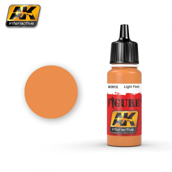 AK-Interactive: (Figure) LIGHT FLESH Acrylic Paint