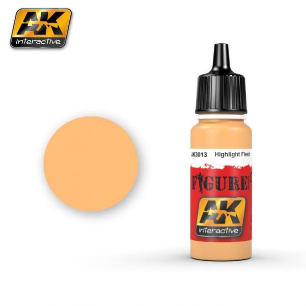 AK-Interactive: (Figure) HIGHLIGHT FLESH Acrylic Paint