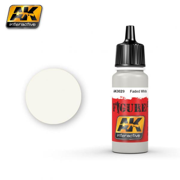 AK-Interactive: (Figure) FADED WHITE Acrylic Paint