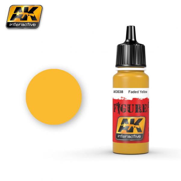 AK-Interactive: (Figure) FADED YELLOW Acrylic Paint