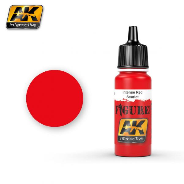 AK-Interactive: (Figure) INTENSE RED / SCARLET Acrylic Paint