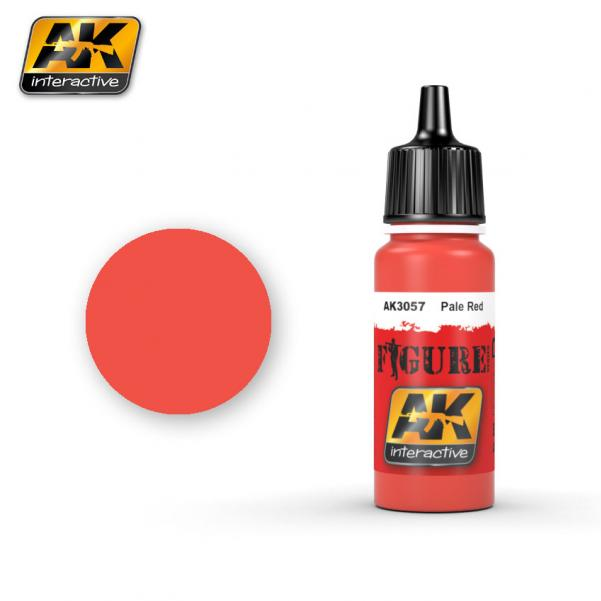AK-Interactive: (Figure) LIGHT RED Acrylic Paint